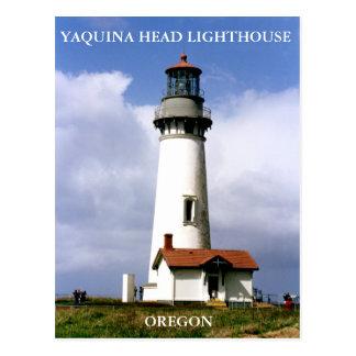 Yaquina Head Lighthouse, Oregon Postcard