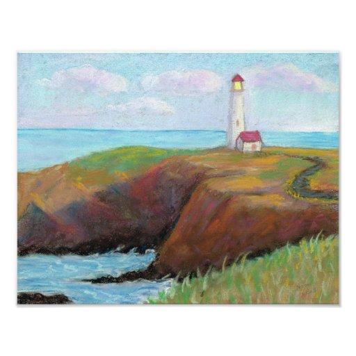 Yaquina Head Lighthouse Photo Print