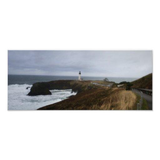 Yaquina Head Lighthouse Photographic Print