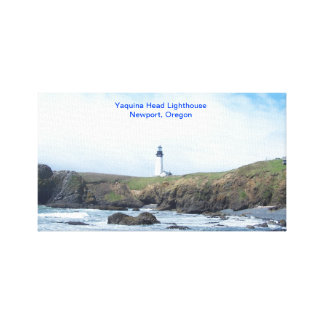 Yaquina Head Lighthouse wrapped canvas
