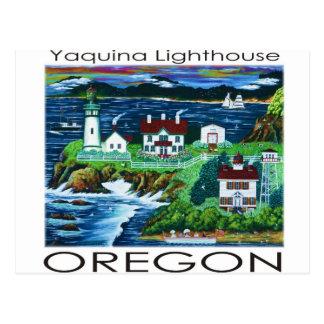Yaquina Lighthouse ~ Oregon Postcard
