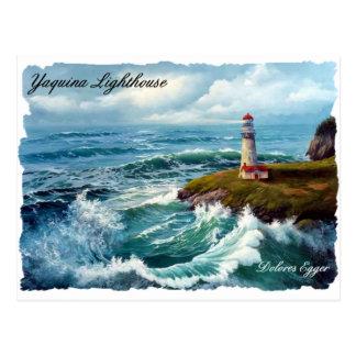 Yaquina Lighthouse Postcard