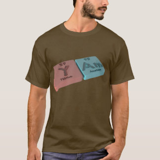 Yar as Y Yttrium and Ar Argon T-Shirt
