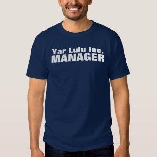Yar Lulu Inc: MANAGER T-shirt