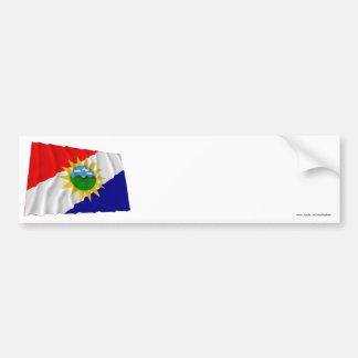 Yaracuy Waving Flag Bumper Sticker