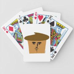 Yaranaika Muffin Bicycle Playing Cards