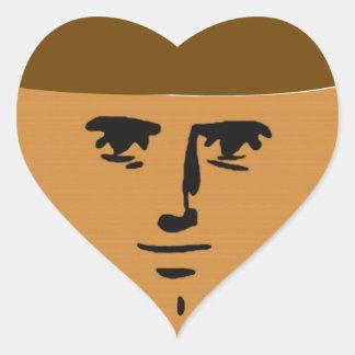 Yaranaika Muffin Heart Sticker