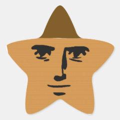 Yaranaika Muffin Star Sticker