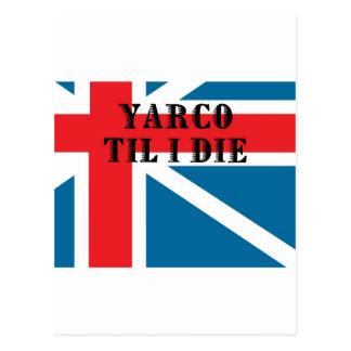 YARCO TIL I DIE POSTCARD