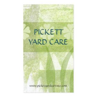 Yard Care Custom Business Card