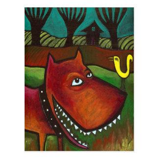 Yard Dog: Post Card