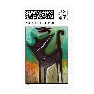 Yard Dog Stamp