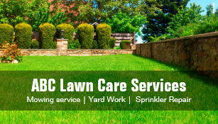 Landscaping business cards zazzle yard lawn care gardening landscaping green grass business card colourmoves