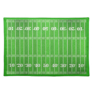 Yard Line Cloth Placemat