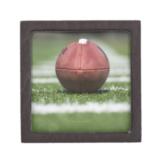 Yard Line Marker Keepsake Box