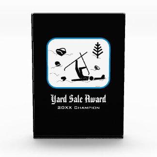 Yard Sale Award - Funny Skiing Certificate