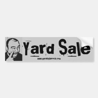 Yard Sale Bumper Sticker Car Bumper Sticker