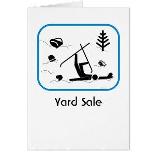 Yard Sale Card