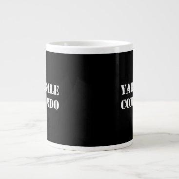 Yard Sale Commando Funny Giant Coffee Mug