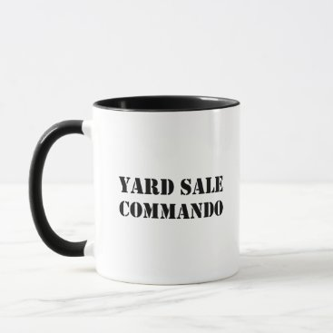 Yard Sale Commando Funny Mug