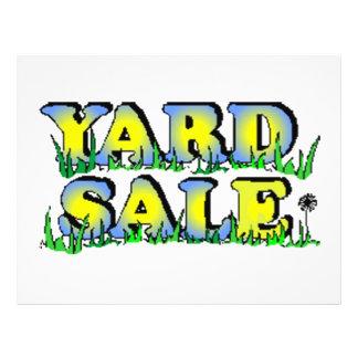 Yard Sale Custom Flyer