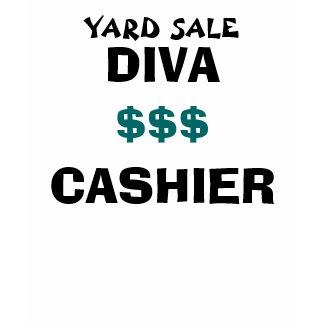 YARD SALE DIVA CASHIER - shirt shirt