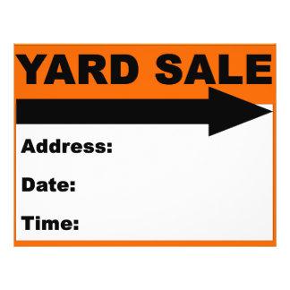 Yard Sale Flyer/Sign Flyer