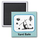 Yard Sale Fridge Magnets
