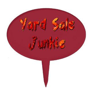Yard Sale Junkie Cake Topper