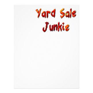 Yard Sale Junkie Letterhead