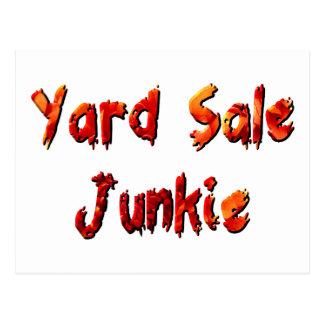 Yard Sale Junkie Postcard