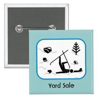 Yard Sale Pinback Button