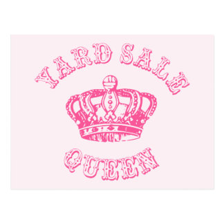Yard Sale Queen Postcard