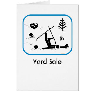 Yard Sale Stationery Note Card