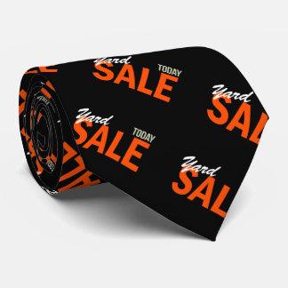 Yard Sale Today Neck Tie