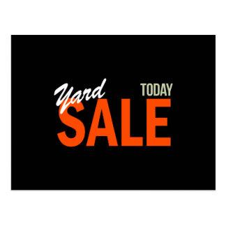 Yard Sale Today Postcard