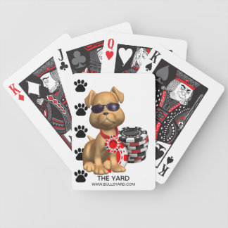 Yard Scooter Playing Cards