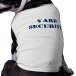 Yard Security Dog Clothes