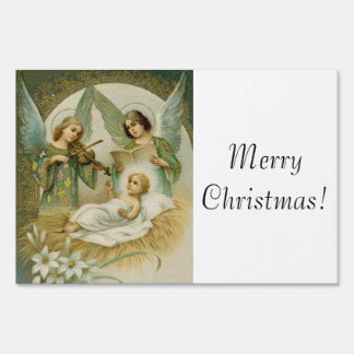 Yard Sign: Gloria in Excelsis Deo Sign