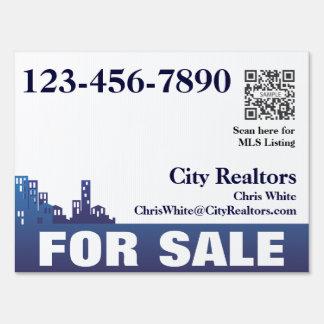 Yard Sign Template City Realtors