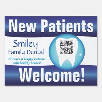Yard Sign Template Generic Dental