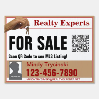 Yard Sign Template Realty Experts