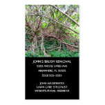 Yard Waste Removal Business Card Templates