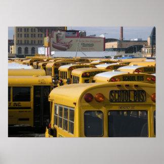 Yarda del autobús de Coney Island Poster