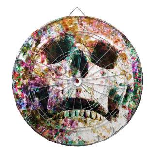 Yarda del sepulcro del jardín de flores del cráneo