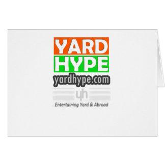 YardHypeClothing Tarjeta De Felicitación