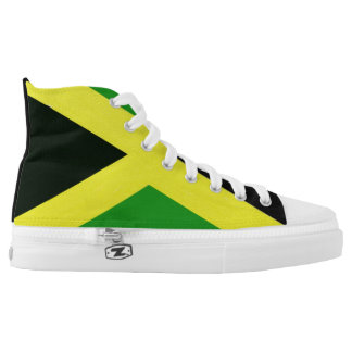 Jamaican flag womens printed shoes zazzle yardie bounce high top sneakers voltagebd Gallery