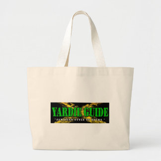 Yardie Guide Hangbag with Jamaican colors Jumbo Tote Bag