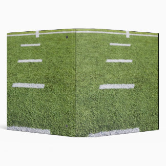 Yardlines on Football Field 3 Ring Binder