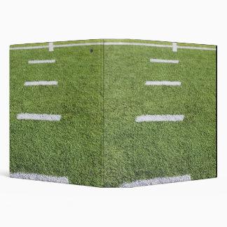 Yardlines on Football Field 3 Ring Binder